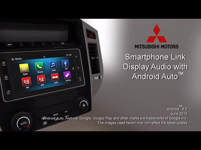 Smartphone Link Display Audio - Android Auto™ hands on[MITSUBISHI MOTORS]