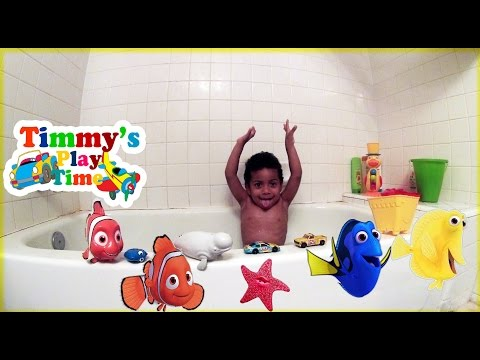 Disney Pixar FINDING DORY Water Toys Playtime in Bath Toys Review for Kids