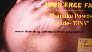 thanaka powder grade groz results in 7 days and kusumba oil permanent hair removal cost and review