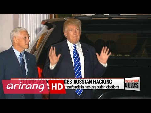 President-elect Trump admits