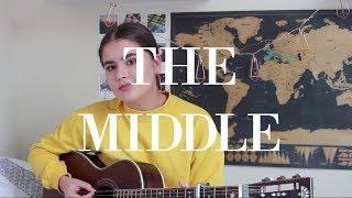 Download Lagu The Middle - Zedd, Maren Morris, Grey / Cover by Jodie Mellor Mp3