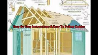 Garden Shed Plans Free - Garden Shed Designs And Easy To Follow Diy Shed Plan