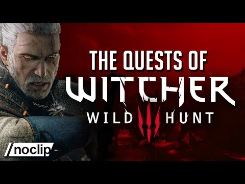 Designing the Quests of The Witcher 3: Wild Hunt