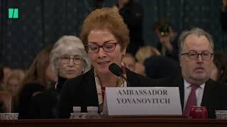 Marie Yovanovitch Responds To Trump Attacks In Real Time