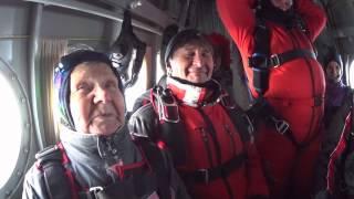 17 января - Тамара Николаевна в 78 лет прыгает с парашютом