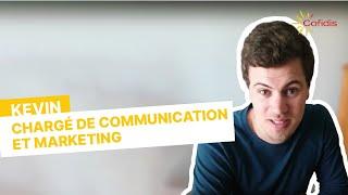 Témoignage de Kevin, chargé de Communication et Marketing en alternance chez Cofidis