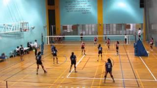2016 B Div Girls National AMK vs EVG 2-0 1st set
