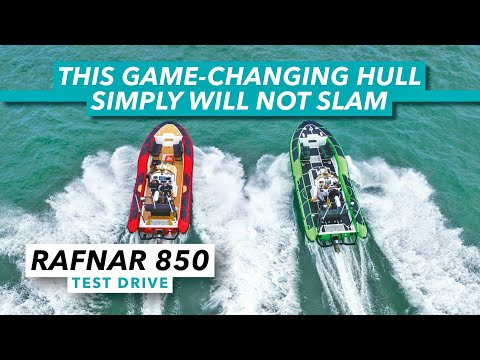 This game-changing hull will not slam   Rafnar 850 RIB test drive review   Motor Boat & Yachting