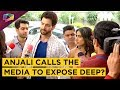 Anjali's Attempt To Humiliate Deep Infront Of The Media? | Ishq Main Marjawan