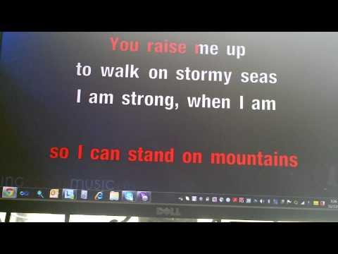 You Raise Me Up by Josh Groban, sung by J-Dub (Karaoke)