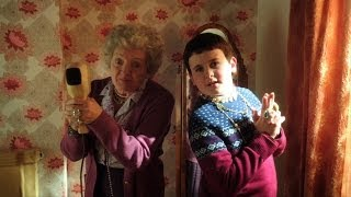 Ben's granny learns to be gangsta: Gangsta Granny Preview - BBC One Christmas 2013
