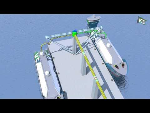 Offshore-animasjon for Kanfer Shipping