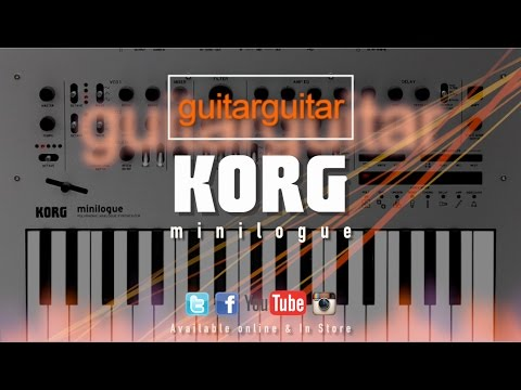 KORG Minilogue Analog Synth