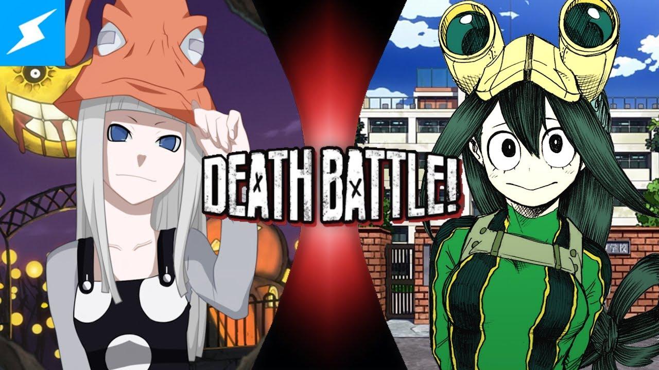 Fan Made Death Battle Trailer Tsuyu Asui Vs Eruka Frog Youtube
