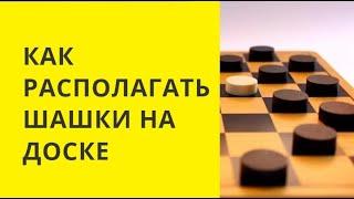 Неудачное расположение шашек.Последствия...