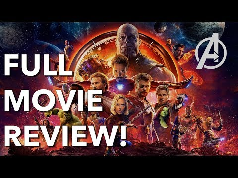 Avengers: Infinity War Non-Spoiler FULL MOVIE REVIEW