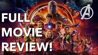 Avengers: Infinity War Non-Spoiler FULL MOVIE REVIEW