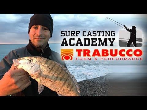 Trabucco TV - Surfcasting Academy 2018 Puntata 5 - Spiagge profonde e foci