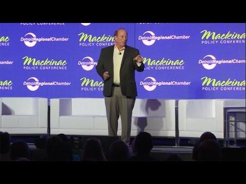 Mayor Mike Duggan Keynote   2016 Mackinac Policy Conference
