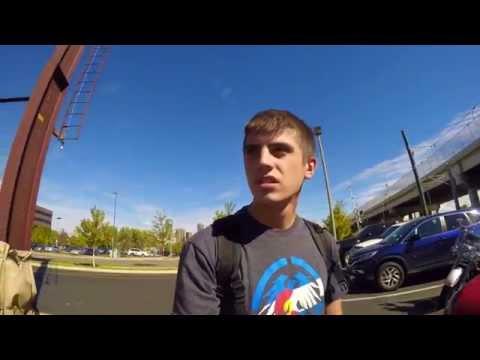 Hover Boarding at Metro State University of Denver