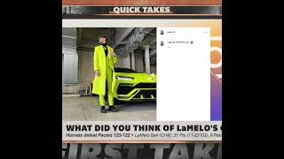 Stephen A. has a problem with LaMelo's neon outfit 😬   #Shorts