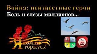 Боль и слезы миллионов… Великая Отечественная война. Трогательное видео. Фролова Мария.