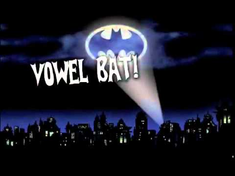 2 Vowel Bat kids song by Shari Sloane  www kidscount1234 com  School is Cool album   YouTube