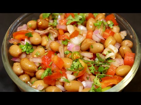 Masala Palli Chat ||healthy Peanut Chat Masala In 10 Minutes
