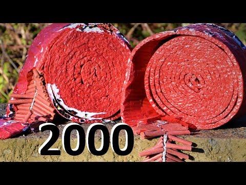 2000 FIRECRACKERS BURST - Chinese whisper TEST