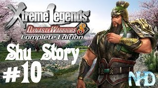 Dynasty Warriors 8 XLCE [PC] (Shu Story Mode pt10 - Guan Yu) Battle of Fan Castle