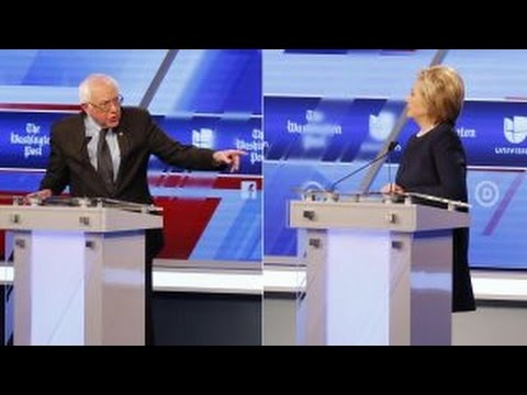 Clinton, Sanders clash on immigration in Democratic debate