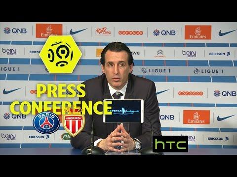 Press Conference Paris Saint-Germain - AS Monaco (1-1) / 2016-17
