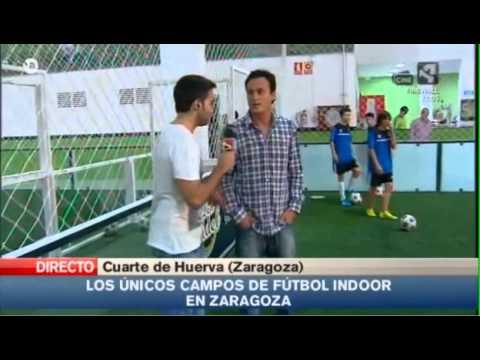 Reportaje de Aragon Televisión para Fútbol Indoor con el Colegio ...