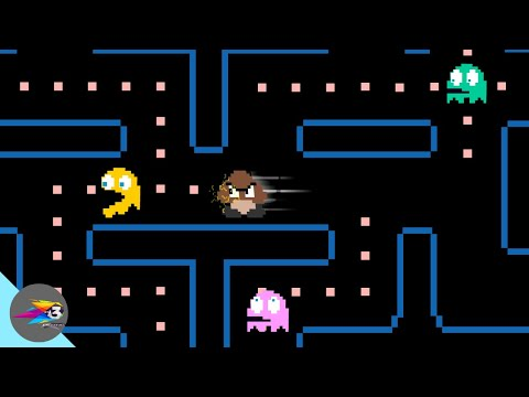 If Goomba Trapped In Pacman World