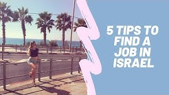 How to find a job in Israel?