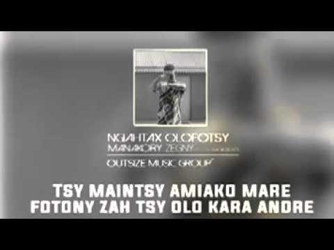 Ngiah tax olo fotsy (OMG)Manakory zegny