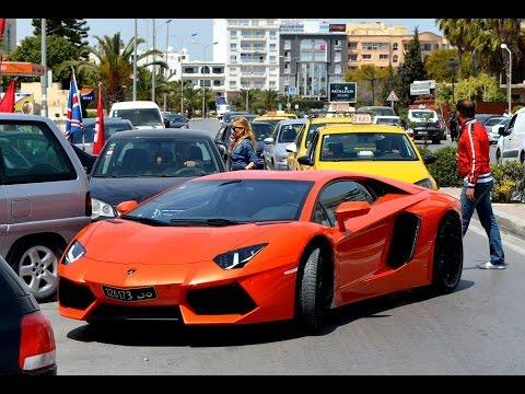 Lamborghini Aventador Lp700 4 In Tunisia Youtube