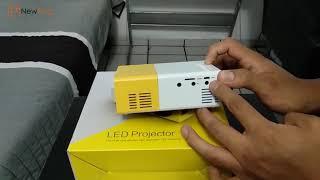 NewFrog   YG300 1080P Home Theater Cinema USB HDMI AV SD Mini Portable HD LED Project