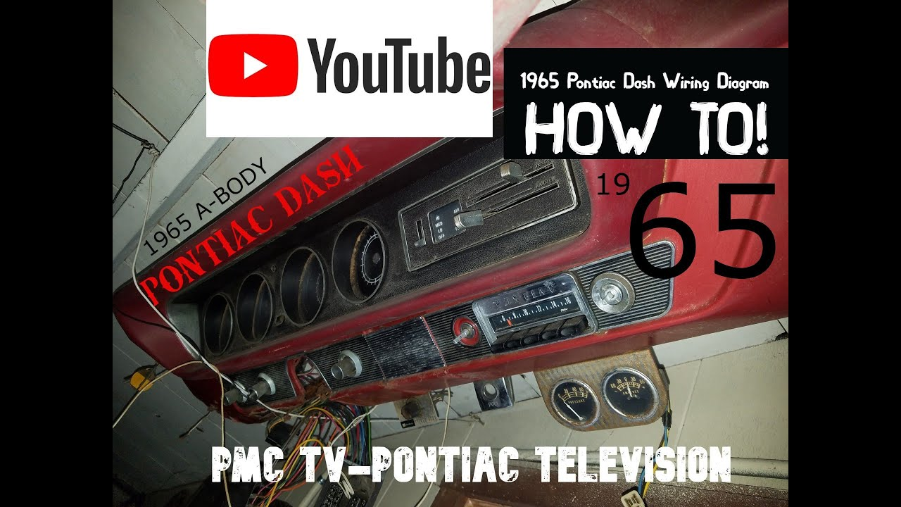 1965 Pontiac Dash Wiring Guide