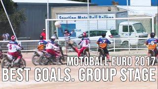 Мотобол Лучшие голы Евро 2017 Групповой этап Motoball Best goals of Euro 2017 Group stage