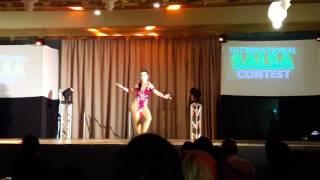Leticia Rodríguez- Integracional Salsa Contest 2016