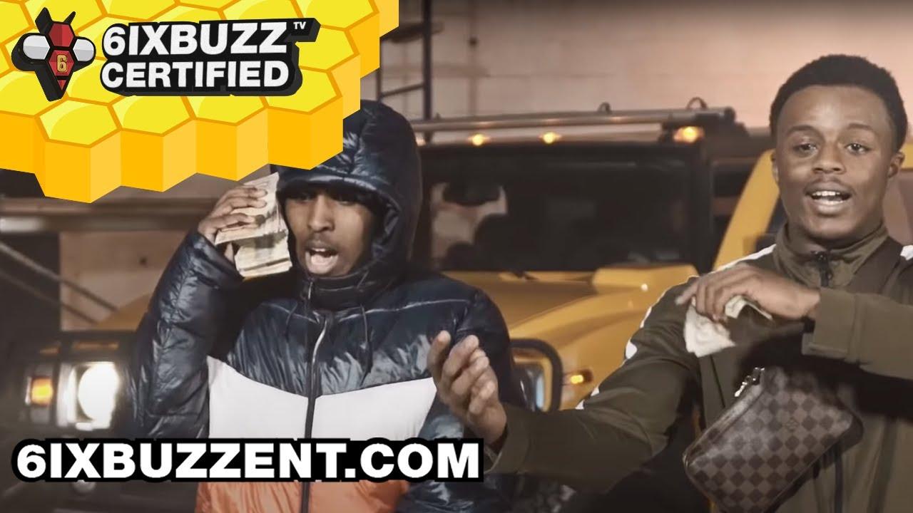 6ixBuzz - Big Bandz Ft. Top5, LocoCity (Official Music Video)