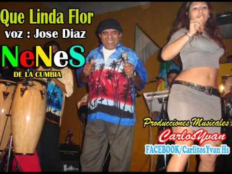 Que Linda Flor - Los Nenes De La Cumbia '' Audio Mp3 Feliz Cumpleaños Cholo Hugo ''