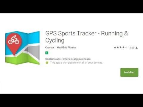 review - Caynax GPS Sports Tracker - Running & Cycling app - reprovado #fail