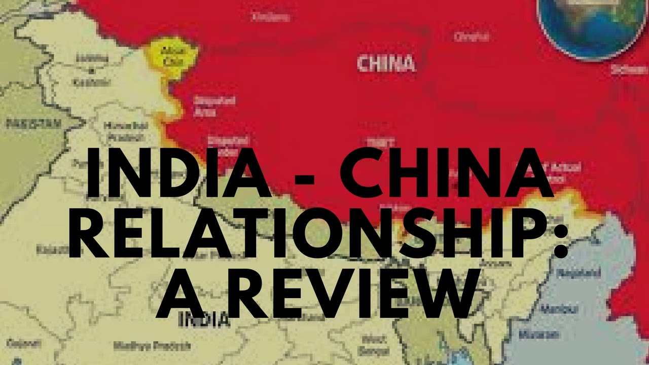 india china relations essay in hindi