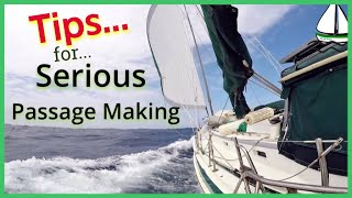 Gambar cover STORM & PASSAGE PREPARATION:Sailing Tanzania to S Africa-Patrick Childress Offshore Sailing Tips #36
