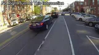 Bike Lane and Oncoming Lane != Passing Lane JTZ4793