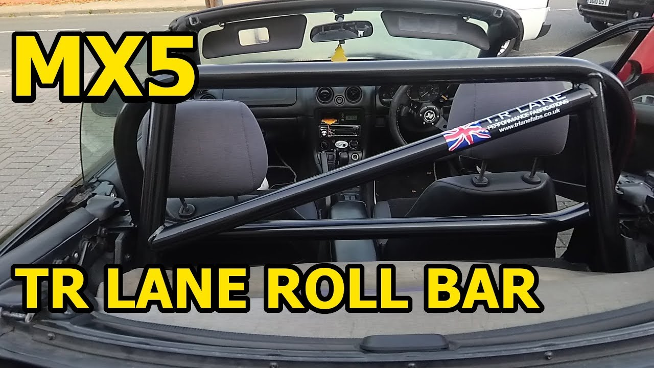 How To Fit a T R LANE Roll Bar to MX5 / Miata