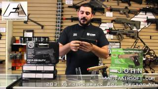 Full Auto Airsoft ASG Pistol Reviews! Gas Blow Back! CZ P-09 and Tac Master STI 1911. Emerson NJ