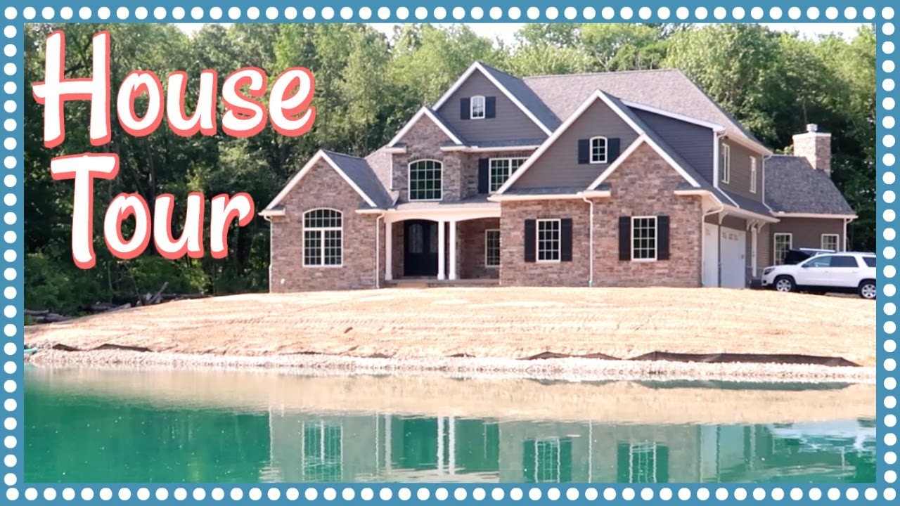 Our empty house tour whole house construction montage for Home video tours